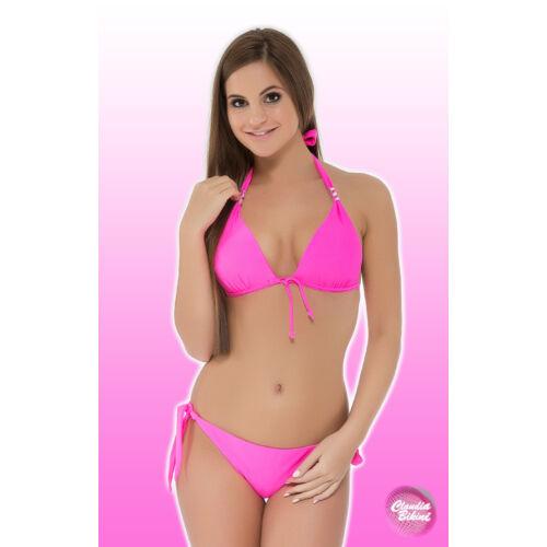 Kellékes háromszög bikini, brazil tangával