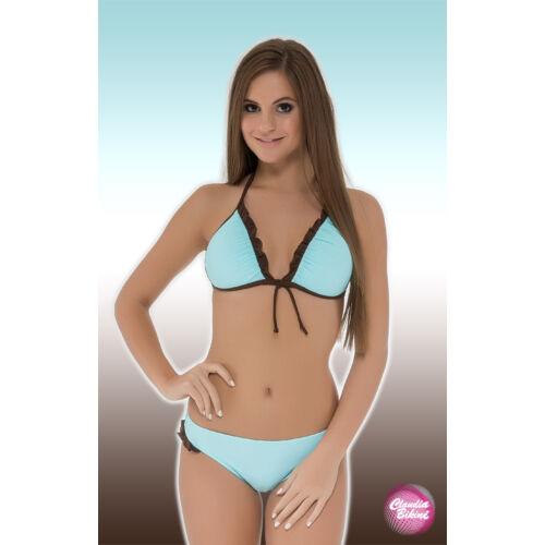 Háromszög bikini, féltangával